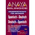 Anaya Bilingue Espanol-Aleman/Aleman-Espanol